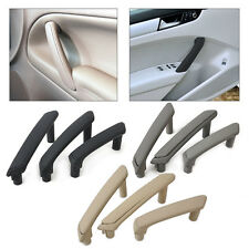 3Pcs Door Pull Grab Handle With Trim Cover 3B4867372 3B0867180A For VW Passat B5