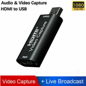 HDMI to USB Video Capture Card 1080P For Game / Live Streaming Portable H5 BOD