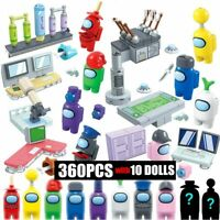 Among US 10 pcs/set Game Mini Figures Building Blocks Action Space Toys Kids