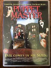 Barbara Crampton PUPPET MASTER ~ Originale 1989 Luna Piena Cult Horror 1 UK DVD