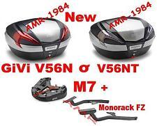 Honda Nc 750 X 2016 Koffer Bauletto V56N NT + Monorack Givi 1146FZ+M7 NC750
