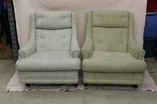 Pair of Rare Woodmark Original Upholstered Chairs Mid-Century Modern