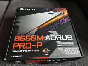 Gigabyte B550M AORUS PRO-P mATX Motherboard for AMD AM4 CPUs