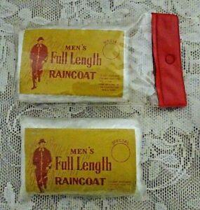 Vintage 1960 1970 INTERNATIONAL HARVESTER Raincoat Company Premium Giveaway