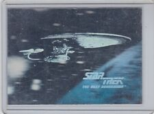 1991 STAR TREK OFFICIAL TRADING CARDS 25TH ANNIVERSARY HOLOGRAM CHASE CARD H2