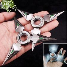 USA Genji Fidget Hand Spinner Triangle Metal Finger Focus Toy EDC ADHD Autism 2