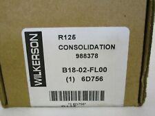 "NEW WILKERSON B18-02-FL00 FILTER REGULATOR 1/4"" 125PSI 5 MICRON 6D756"