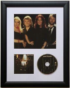 ABBA / Limited Edition / Framed / Photo & CD Presentation / Super Trouper