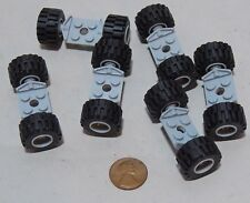 Lego Small Tire/Wheel/Axle Sets Car Vehicle 6015/6014/6157 Lot of 30 Pieces #437