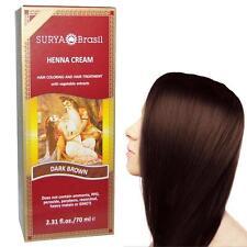 1 Henna Dark Brown Cream Surya Brasil 2.3 Oz