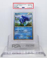 Pokemon HGSS BLACK STAR PROMO SUICUNE #HGSS21 HOLO FOIL CARD PSA 8 NM-MINT #*