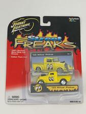 RARE Johnny Lightning Mooneyes 1933 Willys Pick-Up Street Freaks White Lightning