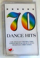 VARIOUS - 70 DANCE HITS - Musicassetta Casssette Tape Sealed
