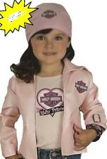Harley Davidson Biker Girls Halloween Costume M Officially Licensed