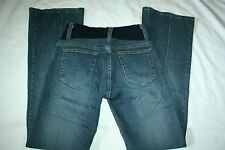 Womens MA Los Angeles bootcut dark wash maternity jeans size M