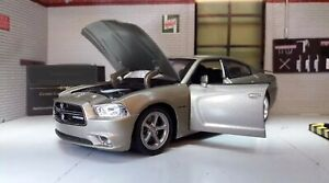 1:24 Scale Dodge Charger Daytona R/T 2006 New Ray Diecast Model Car Silver