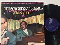 Richard Groove Holmes Living Soul EX (couple sleeve marks) PRESTIGE VAN GELDER
