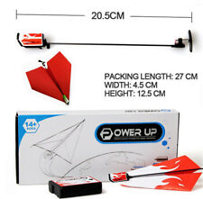 Power Up original Electric RC Remote Control Paper Airplane Glider toy drive TY
