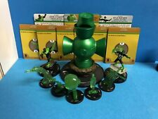 Heroclix War of Light Green Lantern Power Battery w/ 5 constructs LE's ring