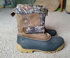 Winter Boots Size 2 Children Ozark Trail Thinsulate Realtree Camo Snow