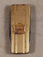 VINTAGE BALFOUR 12K GOLD FILLED CHEVROLET DEALERSHIP POCKET KNIFE
