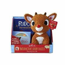 Hallmark Rudolph the Red-Nosed Reindeer Interactive Story Buddy 2.0 Bundle