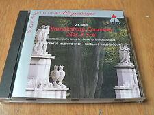 Bach :  Brandenburg Concertos Nos 3, 5 & 6 - Harnoncourt - CD Teldec 1991