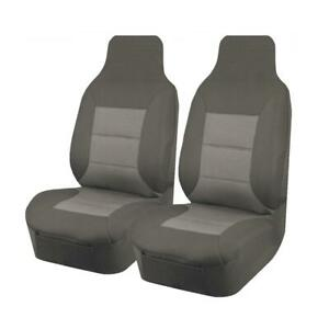 Premium Car Seat Covers For Toyota Hilux Workmate 2015-2020 Dual Cab | Grey