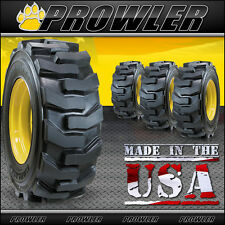 12x16.5 Ultra Guard Skid Steer Tires and Wheels - Set of 4, Carlisle, Gehl