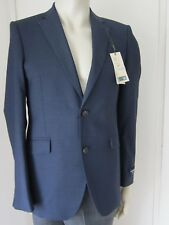 "M&S Jacket Alfred Brown Pure Wool Size 36"" Med Saville Row Inspired New Tagged"