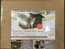 """K&H OUTDOOR HEATER KITTY HOUSE EXTRA-WIDE 21.5"""" x 26.5"""" x 15.5"""" BRAND NEW IN BOX"""