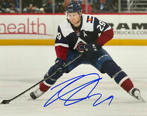 Nathan MacKinnon Autographed Signed 8x10 Photo ( Avalanche HOF ) REPRINT