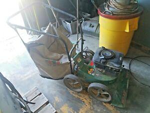 Billy Goat Leaf/Lawn Vacuum w/Bag  #KD505ICQ 5 hp Gas engine