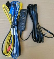 REMOTE CONTROL AND WIRE HARNESS FOR KENWOOD KSC-PSW8, JVC CW-DRA8 SUBWOOFERS.