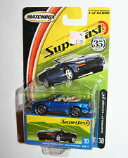 Matchbox Superfast Chevrolet Diecast Vehicles