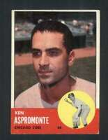 1963 Topps #464 Ken Aspromonte EXMT/EXMT+ Cubs 89775