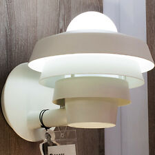 Luz de pared exterior industriestil Farol elementos retro außenalampe blanco