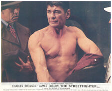 The Streetfigter Hard Times Original Lobby Card Charles Bronson James Coburn