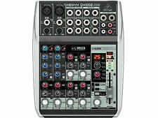 BEHRINGER QX1002USB MIXER 10 INGRESSI CON USB ED EFFETTI X VOCE A 24 BIT