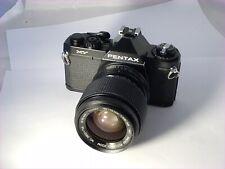 Pentax MV Film Camera & Vivitar 35/70mm F2.8-3.8 M/F Lens, New Seals,