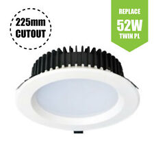 "WHITE commerciale a incasso Led Downlight (23W - 8 "" - 1800LM) PURO BIANCO 5500K"