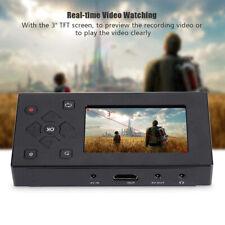 "Portable 3"" TFT Screen Audio Video Capture Converter MP3/4 Camcorder AV Recorder"