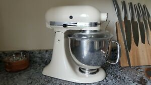 KitchenAid 4.8L Artisan Stand Mixer - Almond Cream