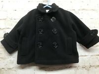 Navy Pea Coat 6-9M Good Lad of Philadelphia Anchor Button Just Like Daddy Warm