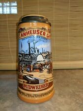 Stein, Anheuser-Busch Budweiser, Classic Collection 1991 St. Louis Riverfront