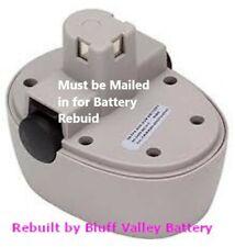 Rebuild / Rebuilt Battery service for 3M Model 16398 Sun Gun 12 V 3800 mAh NiMh