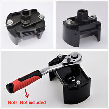 """60-80mm Adjustable Car Oil Filter Removal Wrench Cup 1/2"""" Housing Tool Remover"""
