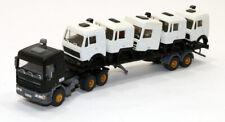 mb Built Up Kibri DAF 95-400 Tractor w/flat bed trailer w/various Cab ld 1/87 HO