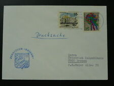 Navy Schiffspost vessel Bayern cover 1966 Germany 69960