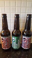 3 empty beer bottles Brew Dog